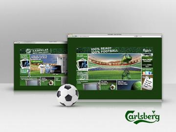 100% fodbold 100% Carlsberg